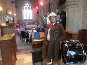 Old Billy Bisbrooke Church Comic Relief event
